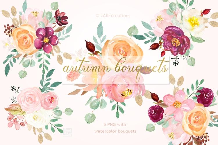 Presentation CM 4 Autumn bouquet